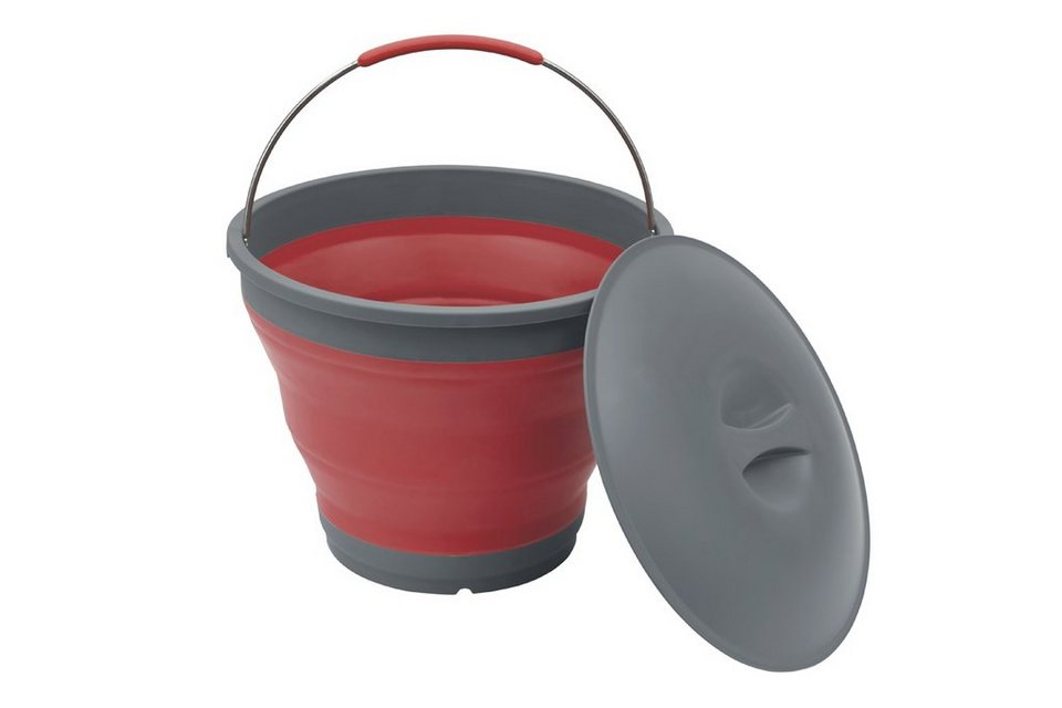 Outwell Wasserkanister »Collaps Bucket with Lid« in rot
