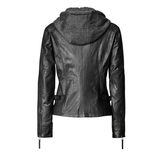 TOM TAILOR Lederjacke, Damen Egoist
