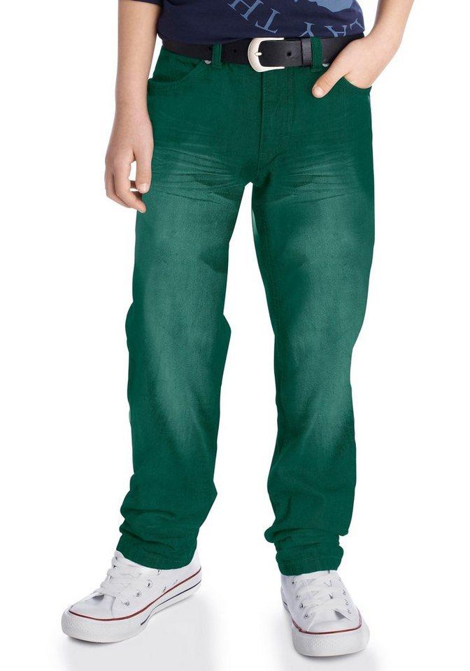 Arizona Regular-fit-Jeans mit geradem Bein in grün
