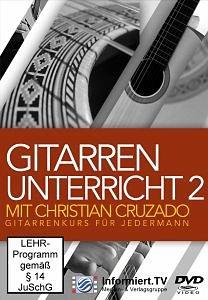 DVD »Gitarrenunterricht Mit Christian Kammerl Teil 2«
