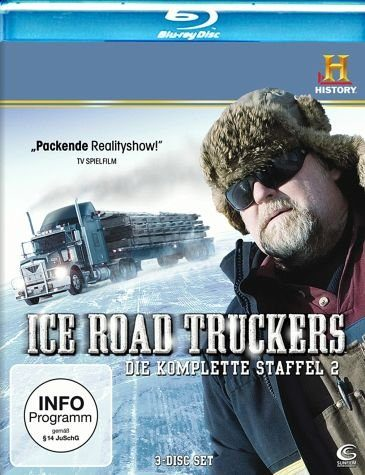 Blu-ray »History Channel: Ice Road Truckers - Die...«