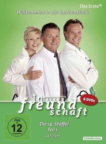 DVD »In aller Freundschaft - Die 14. Staffel, Teil...«
