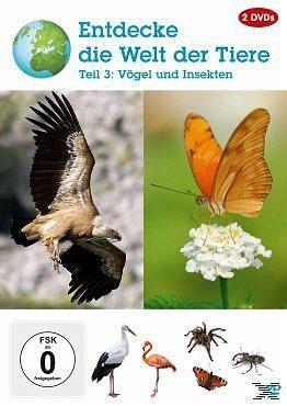 DVD »Entdecke die Welt der Tiere - Vol. 3«
