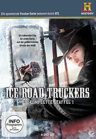 DVD »History Channel: Ice Road Truckers (4 Discs)«
