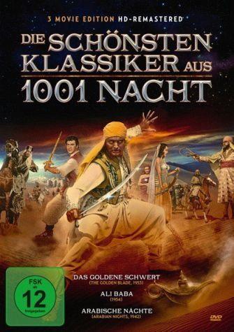 DVD »Die schönsten Klassiker aus 1001 Nacht (3 Discs)«