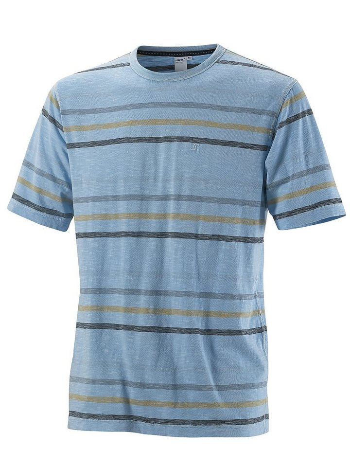 JOY sportswear T-Shirt »HOLGER« in icy blue stripes