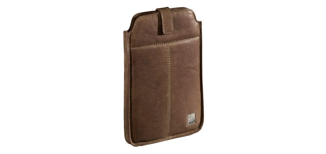 aha: Sleeve Vintage Small für Mini-Tablets, bis 17,8 cm (7), Leder