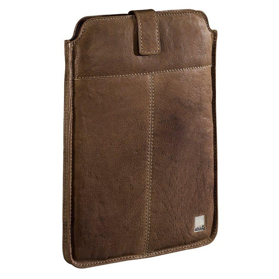 aha: Sleeve Vintage Big für Tablets, Displaygr. 25,6 cm (10,1) in Braun