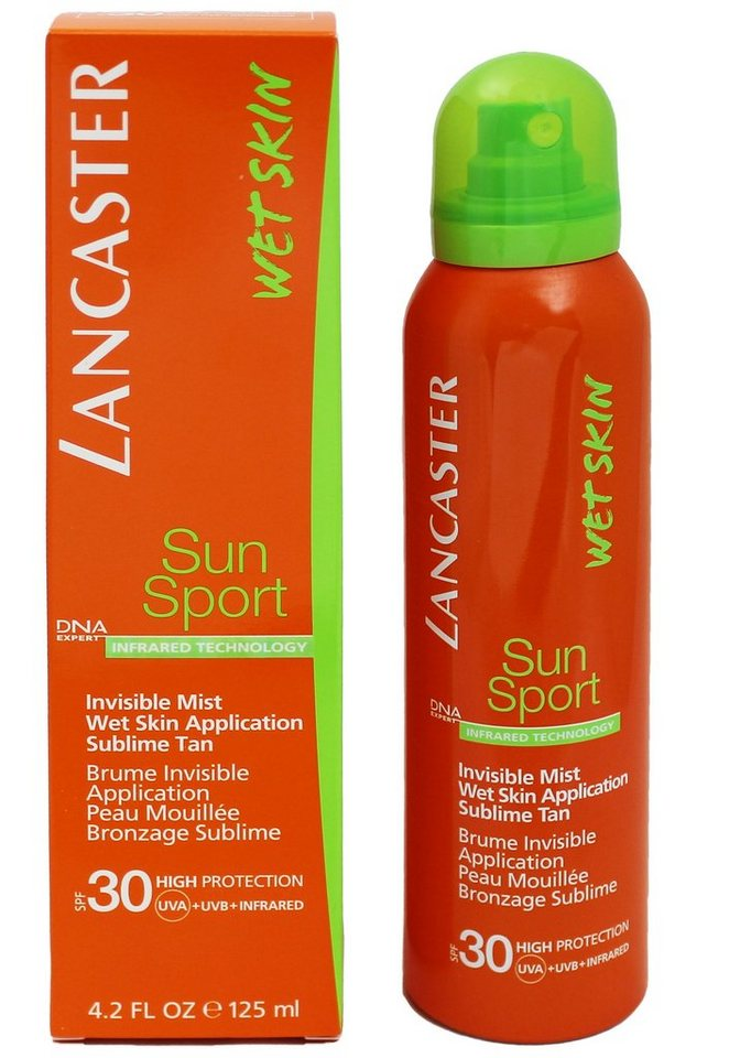 Lancaster, »Sun Sport - Invisible Mist Wet Skin Application«, Sonnenspray, 125 ml