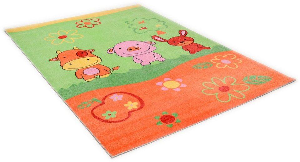 Kinder-Teppich, Theko, »Mamba4 TBD660« in gruen