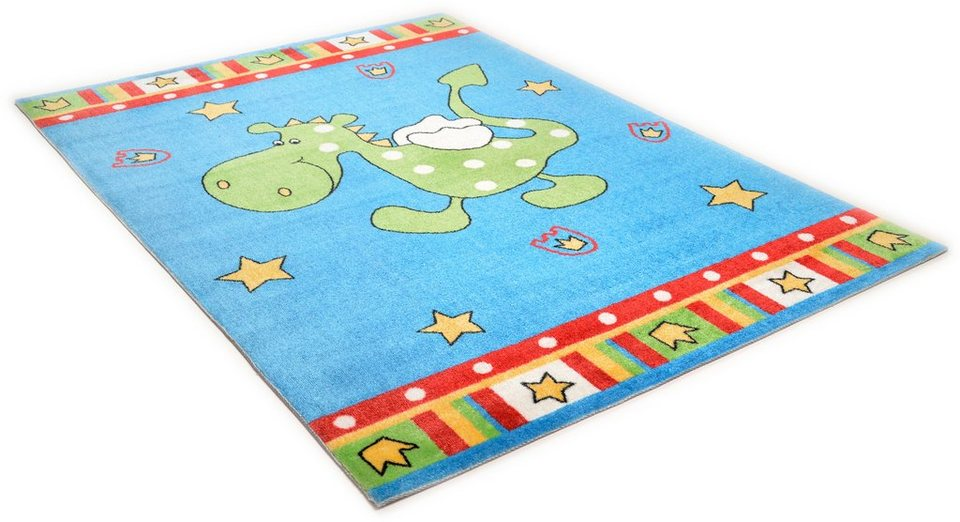 Kinder-Teppich, Theko, »Mamba TBD613« in blau