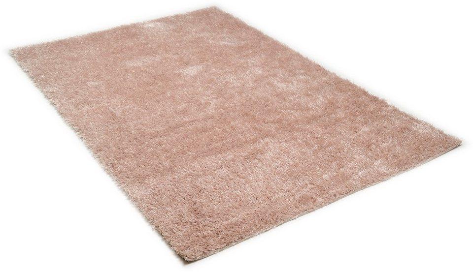 Hochflor-Teppich, Theko, »Tinos Super«, Höhe 25 mm, handgetuftet in beige