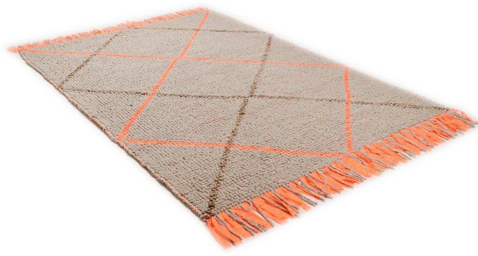Teppich »Modern Weave7«, Theko, rechteckig, Höhe 10 mm in orange