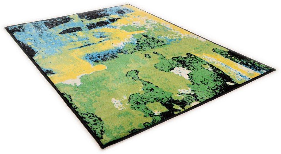 Teppich »Sydney 809«, Theko, rechteckig, Höhe 10 mm in grün