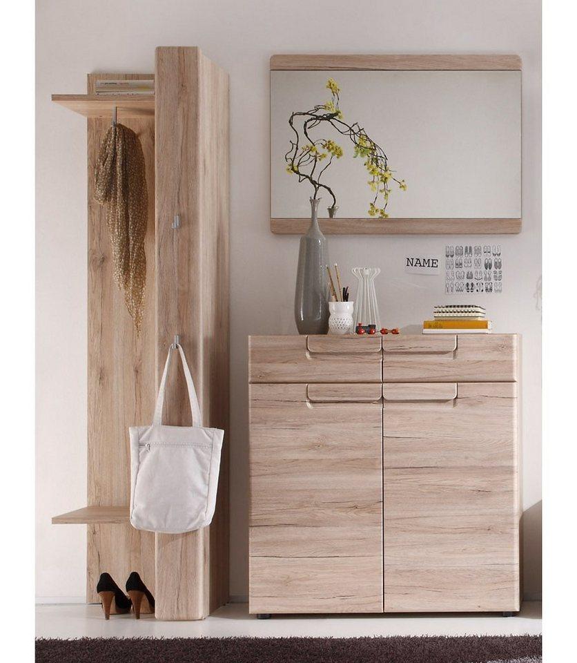 trendteam garderoben set malea 3 tlg mit anschlagd mpfern online kaufen otto. Black Bedroom Furniture Sets. Home Design Ideas