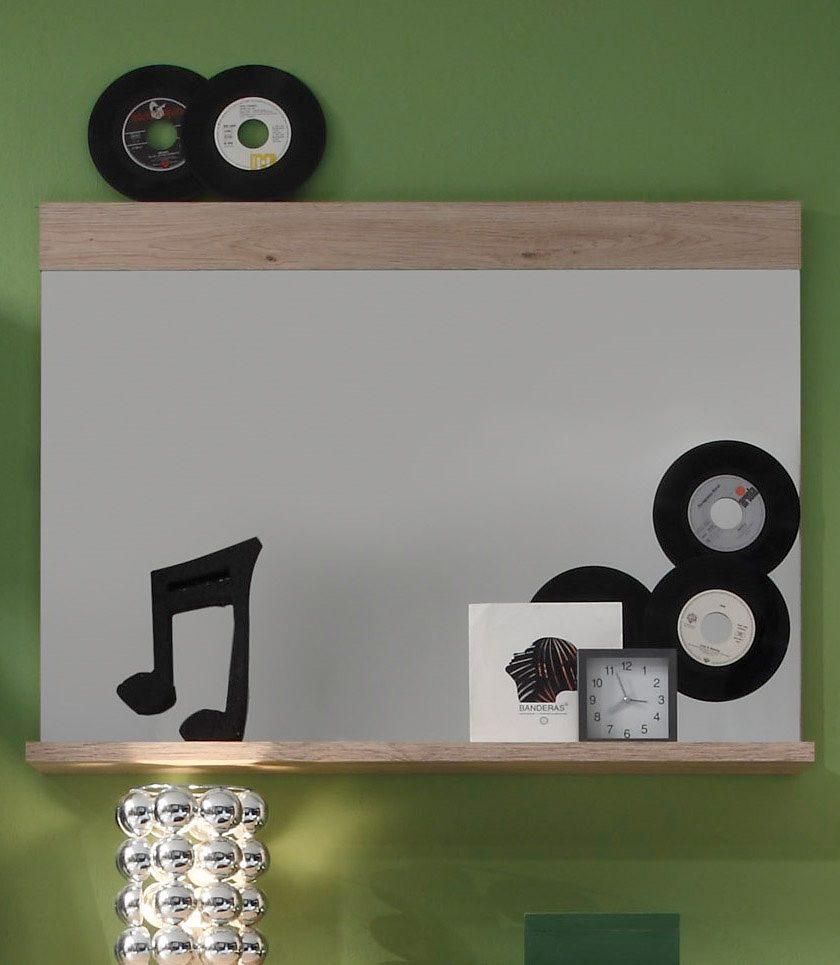 Spiegel »CAMPUS«, mit Ablage