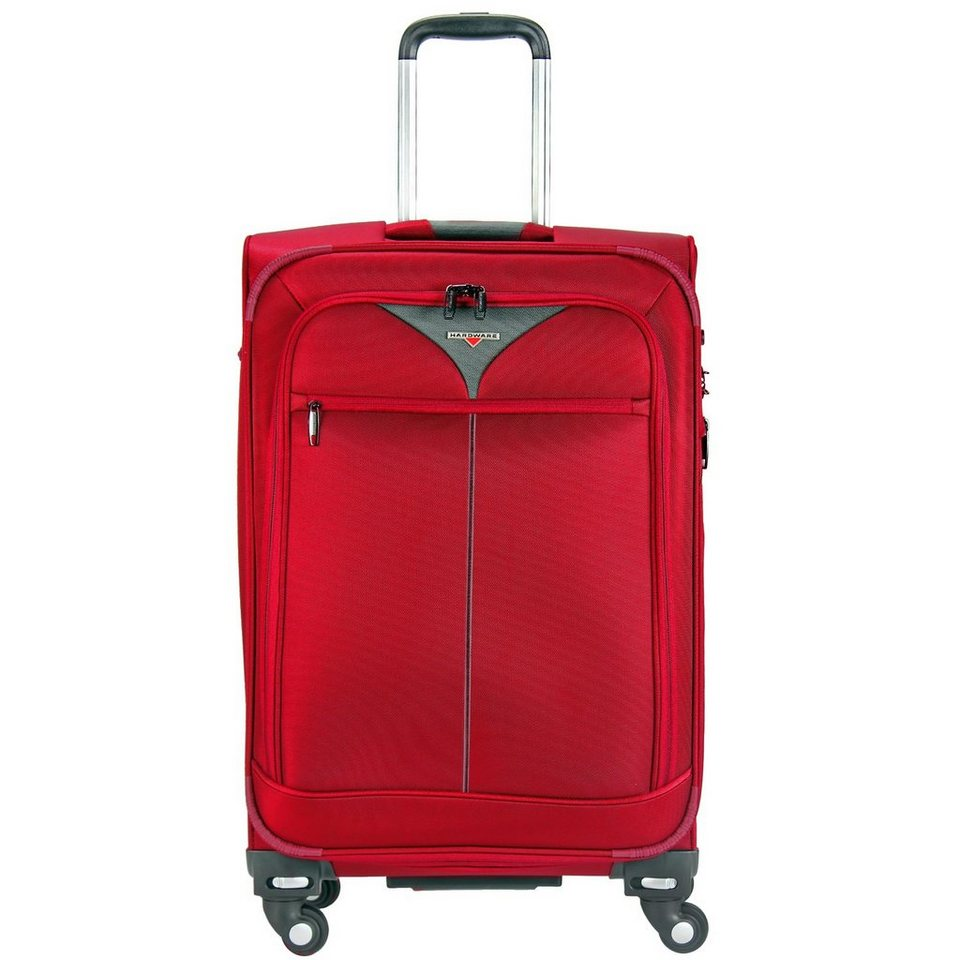 Hardware Skyline 3000 4-Rollen Trolley 68 cm in red-grey