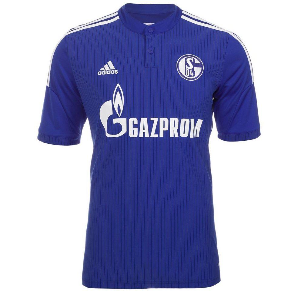 adidas Performance FC Schalke 04 Trikot Home 2014/2016 Herren in blau / weiß