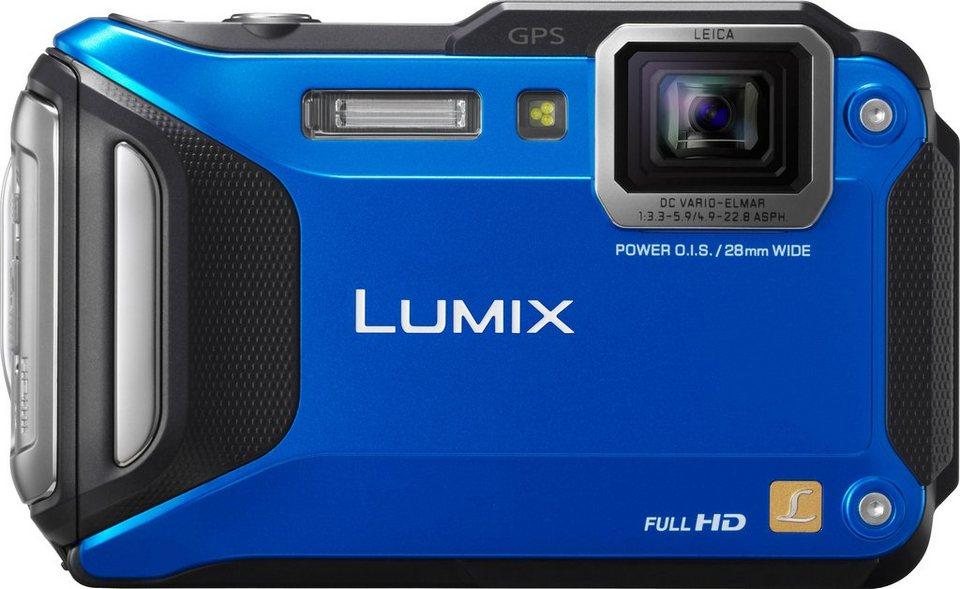 Panasonic Lumix DMC-FT5EG9 Outdoor Kompakt Kamera, 16,1 Megapixel, 4,6x opt. Zoom