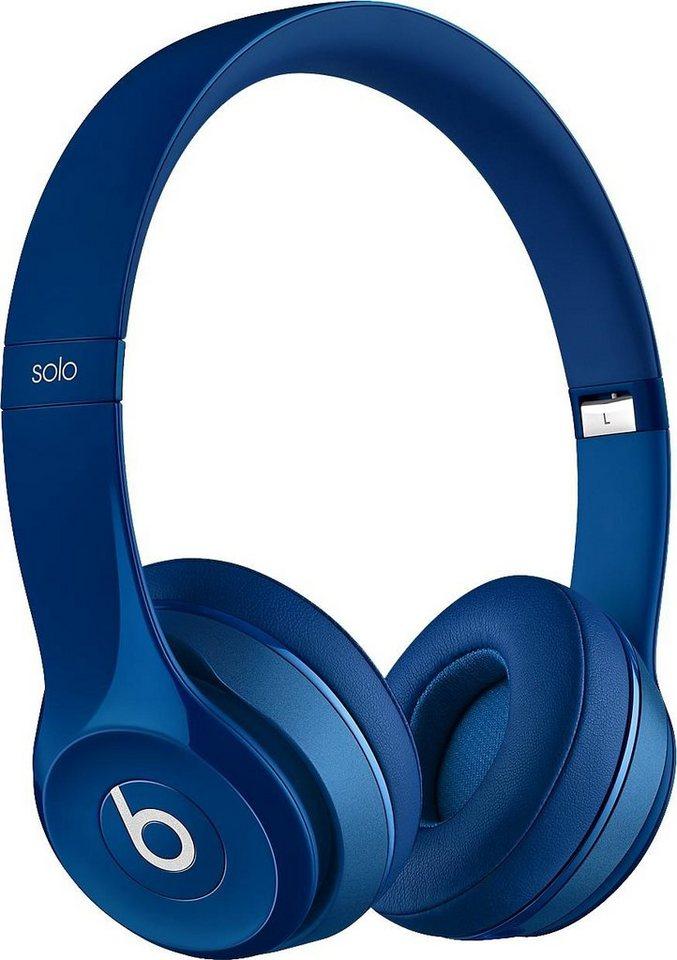 Beats by Dr. Dre SOLO2 Kopfhörer in Blau
