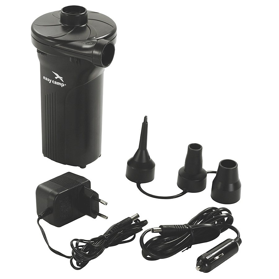 Easy Camp Luftmatratze »Monsoon Rechargeable Pump« in schwarz