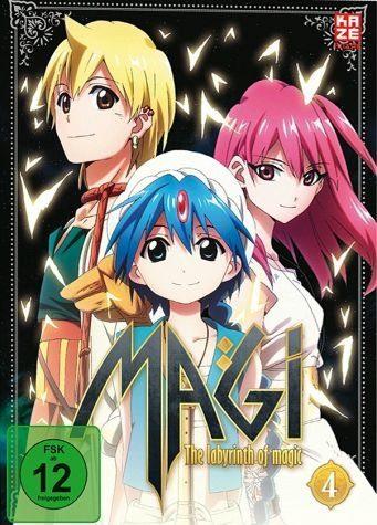 DVD »Magi: The Labyrinth of Magic, Box 4 (2 Discs)«