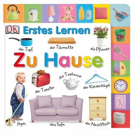 Buch mit Papp-Einband »Erstes Lernen. Zu Hause«