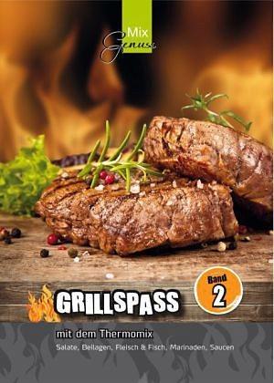 Broschiertes Buch »GRILLSPASS mit dem Thermomix 2«
