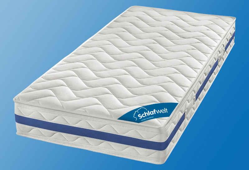 Komfortschaummatratze »VS Starbee 24«, Schlafwelt, 24 cm hoch, Raumgewicht: 28, Optimale Körperanpassung – 2-Schicht-Konstruktion