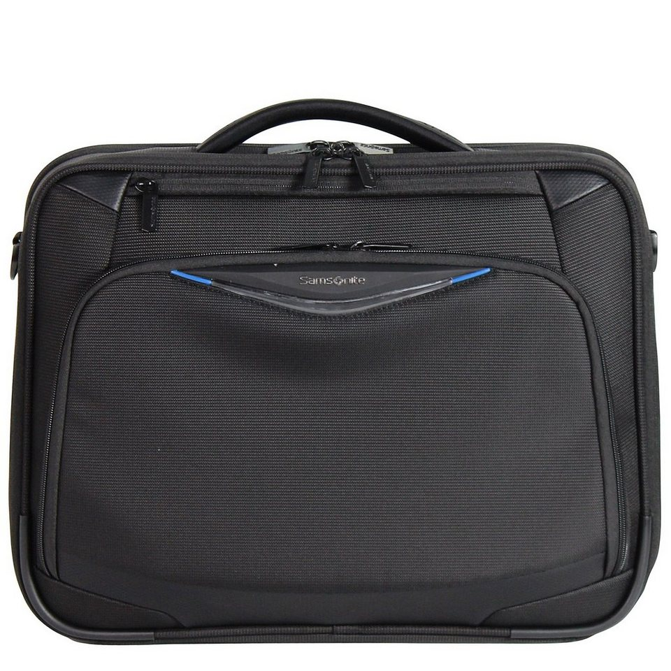 Samsonite Triforce Aktentasche 44 cm Laptopfach in black