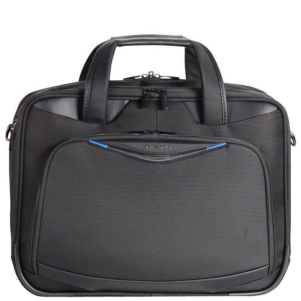 Samsonite Triforce Aktentasche 45 cm Laptopfach in black