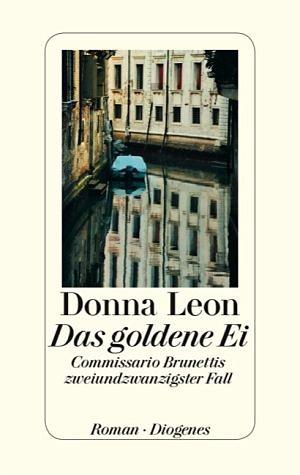 Buch mit Leinen-Einband »Das goldene Ei / Commissario Brunetti Bd.22«