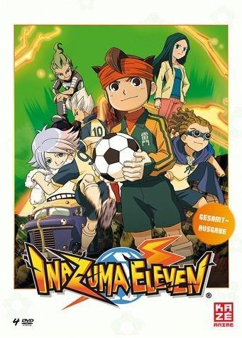 DVD »Inazuma Eleven - Gesamtausgabe (4 Discs)«