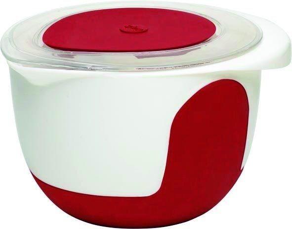emsa Rührtopf mit Deckel »Smart Kitchen« in Weiß, Rot