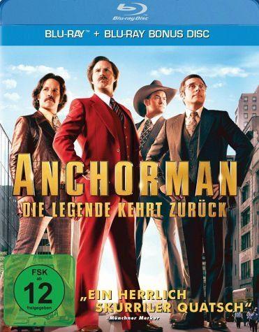 Blu-ray »Anchorman - Die Legende kehrt zurück (+...«