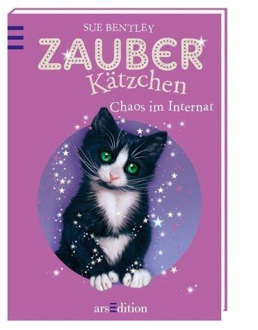 Gebundenes Buch »Chaos im Internat / Zauberkätzchen Bd.2«