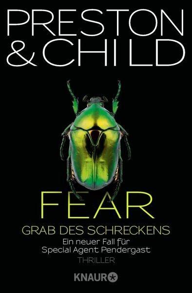 Broschiertes Buch »Fear - Grab des Schreckens / Pendergast Bd.12«
