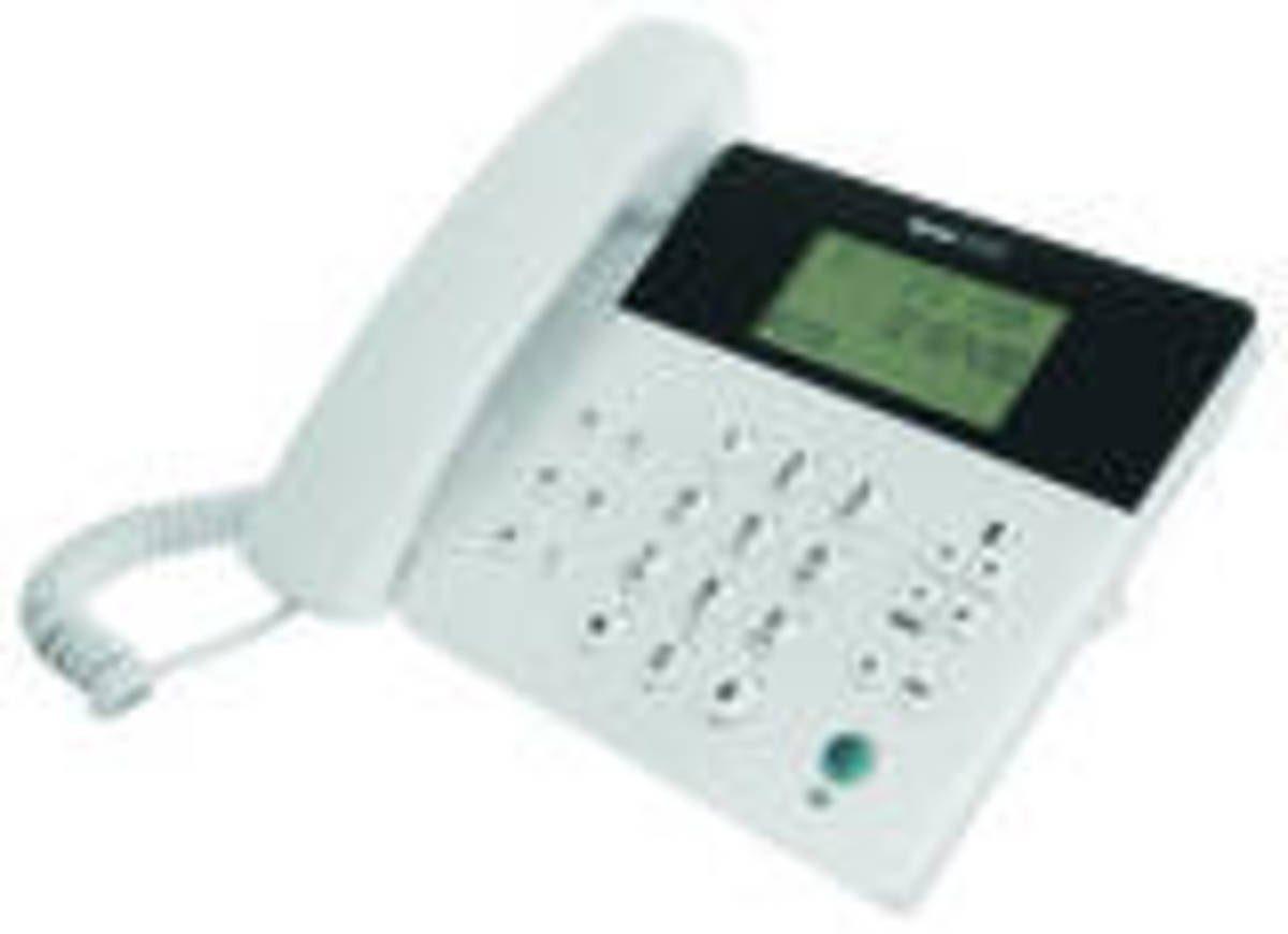 Tiptel Telefon »Analoges Komfort-Telefon, Weiß«