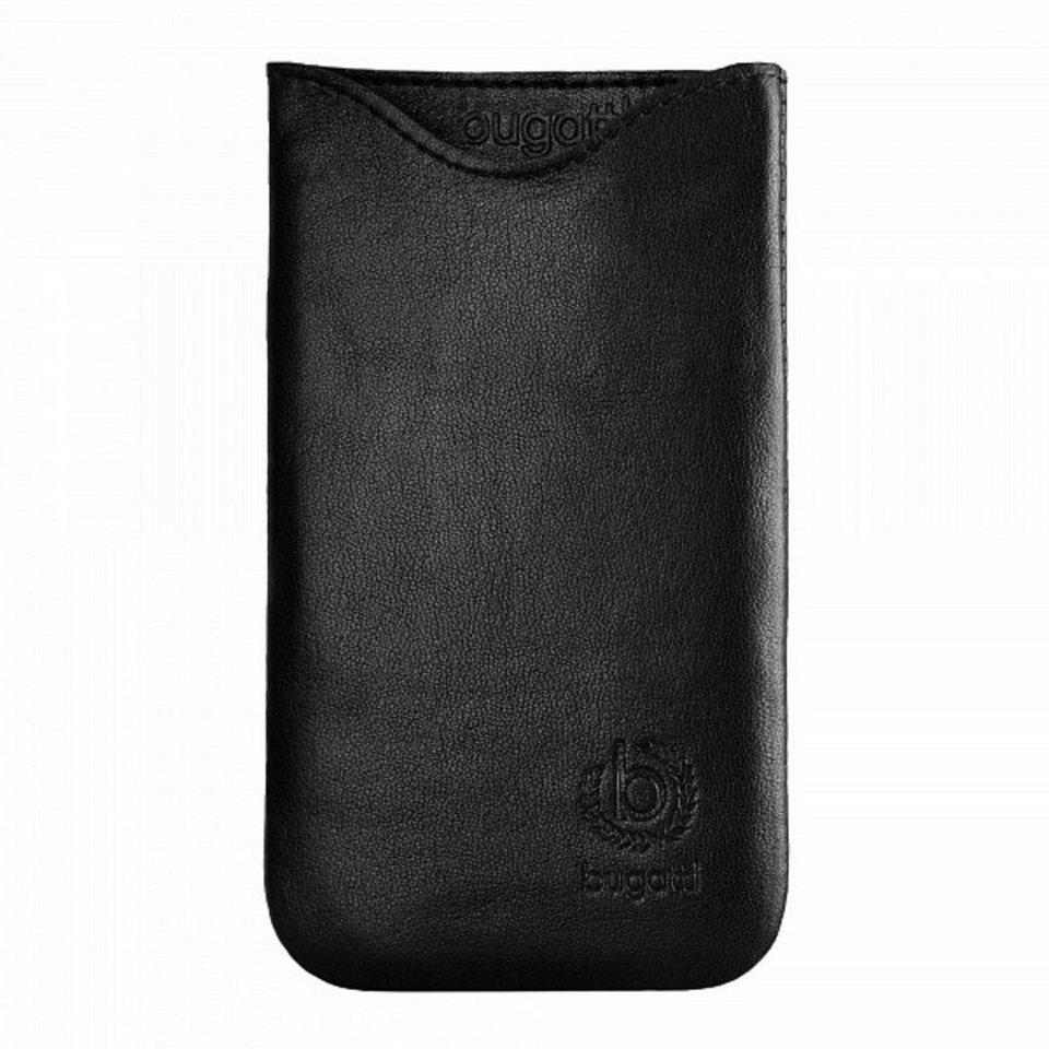 bugatti Handytasche »SlimFit für Sony Xperia Z1 Compact, Schwarz« in Schwarz