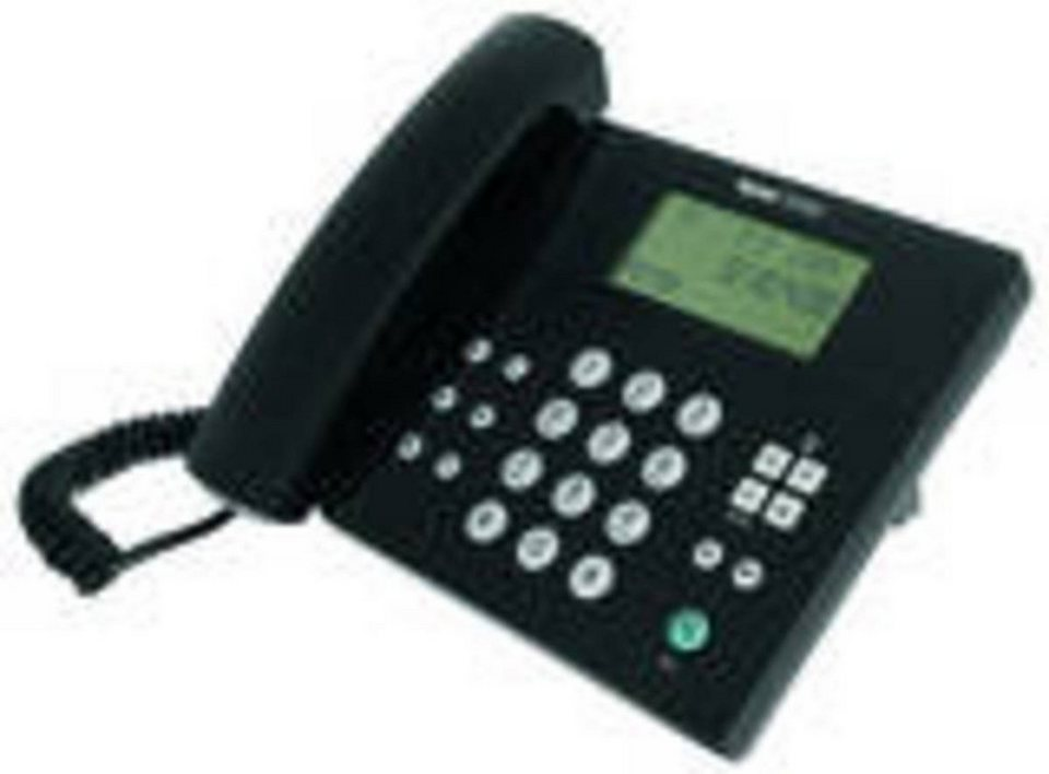 Tiptel Telefon »Analoges Komfort-Telefon« in Schwarz