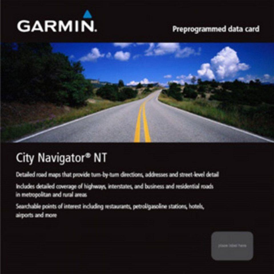 Garmin Karte »City Navigator Europe NT – Nordische Länder (SD)« in Schwarz