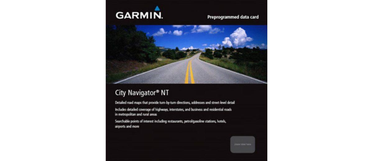 Garmin Karte »City Navigator Europe NT – Nordische Länder (SD)«