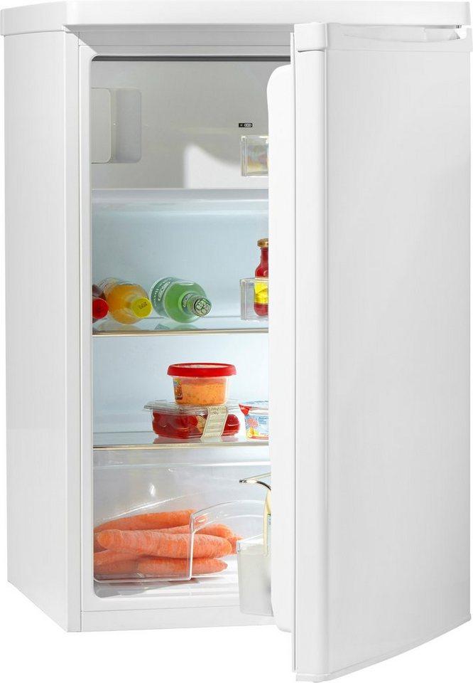 Hanseatic Kühlschrank HKS8555GA1, A+, 85 cm hoch in weiß