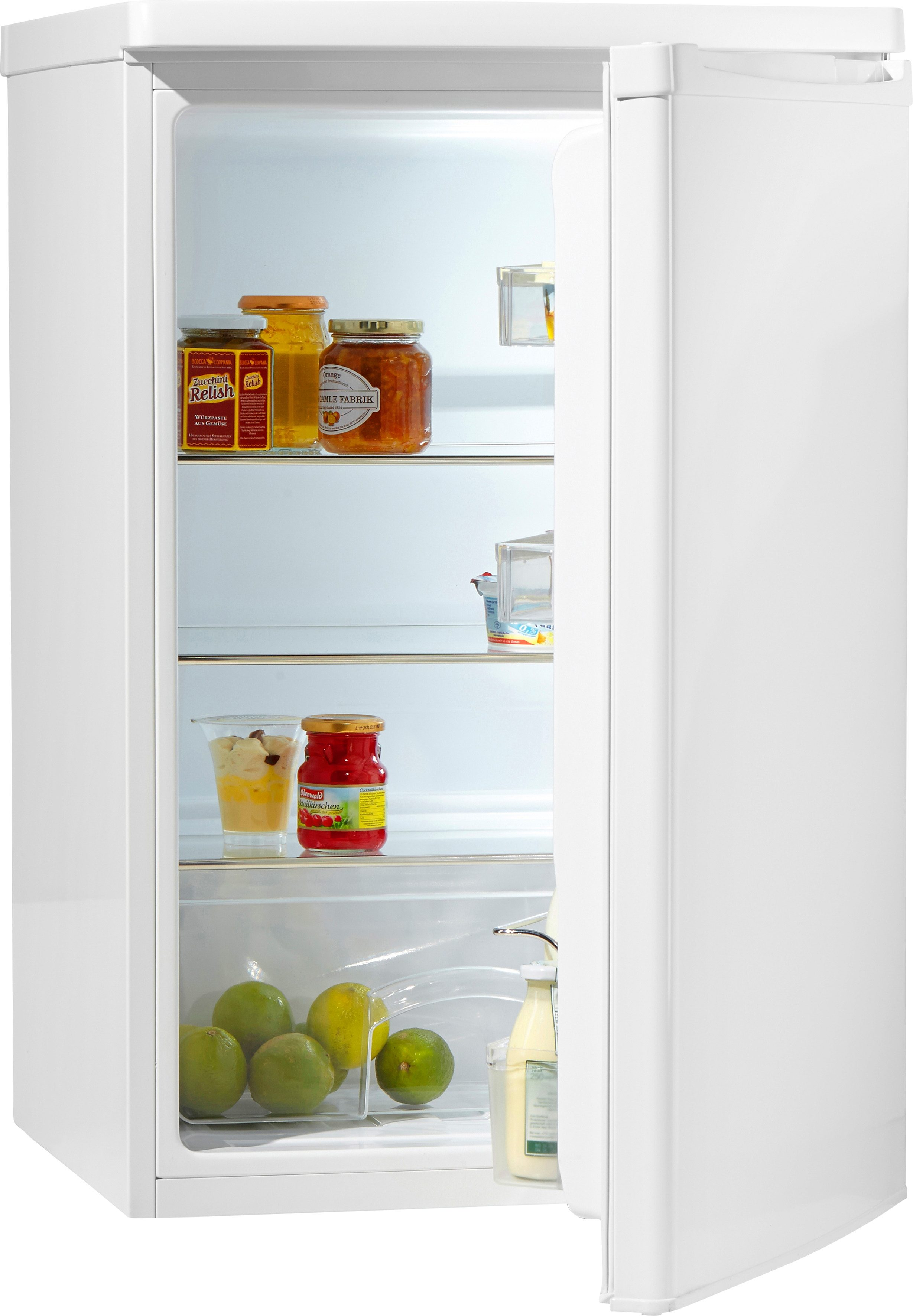 Hanseatic Kühlschrank HKS 8555A1, A+, 85 cm hoch