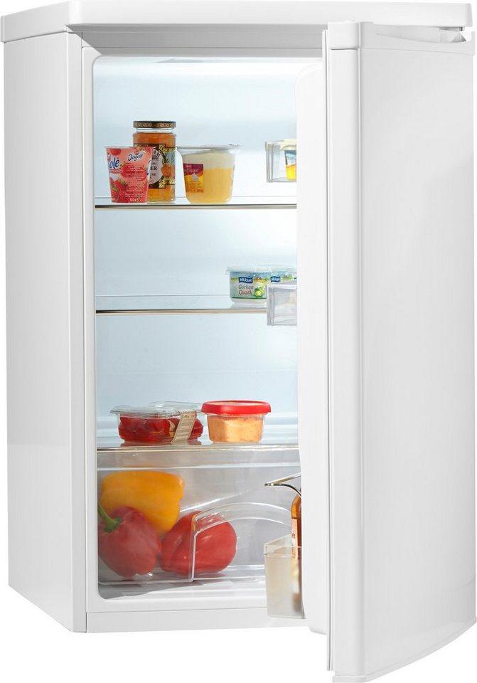 Hanseatic Kühlschrank HKS 8555A2, A++, 85 cm hoch in weiß