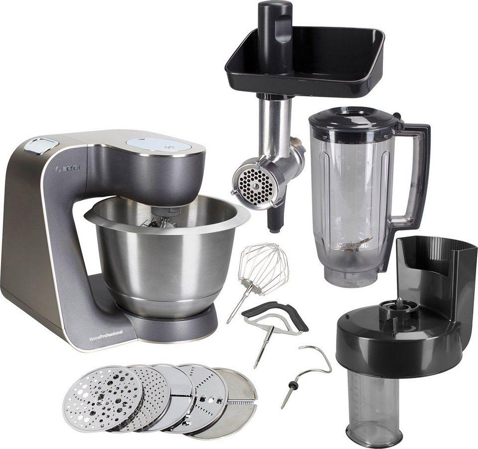 BOSCH Küchenmaschine Home Professional MUM57860, 900 W, 3,9 l Schüssel  online kaufen | OTTO