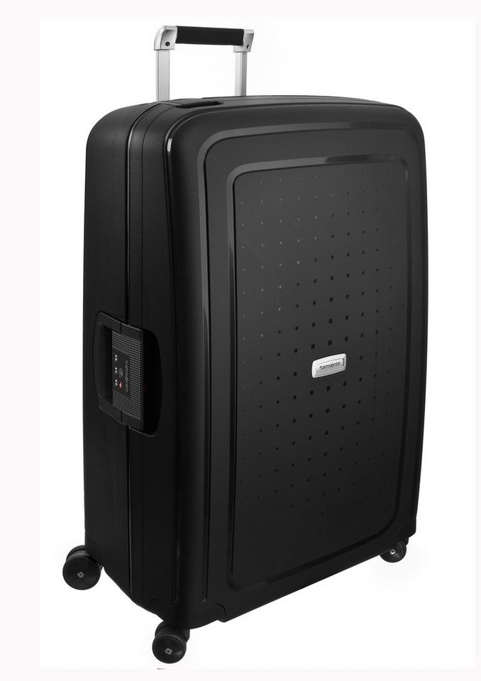 Samsonite, Hartschalen Trolley mit 4 Rollen, »S'Cure DLX™« in graphit