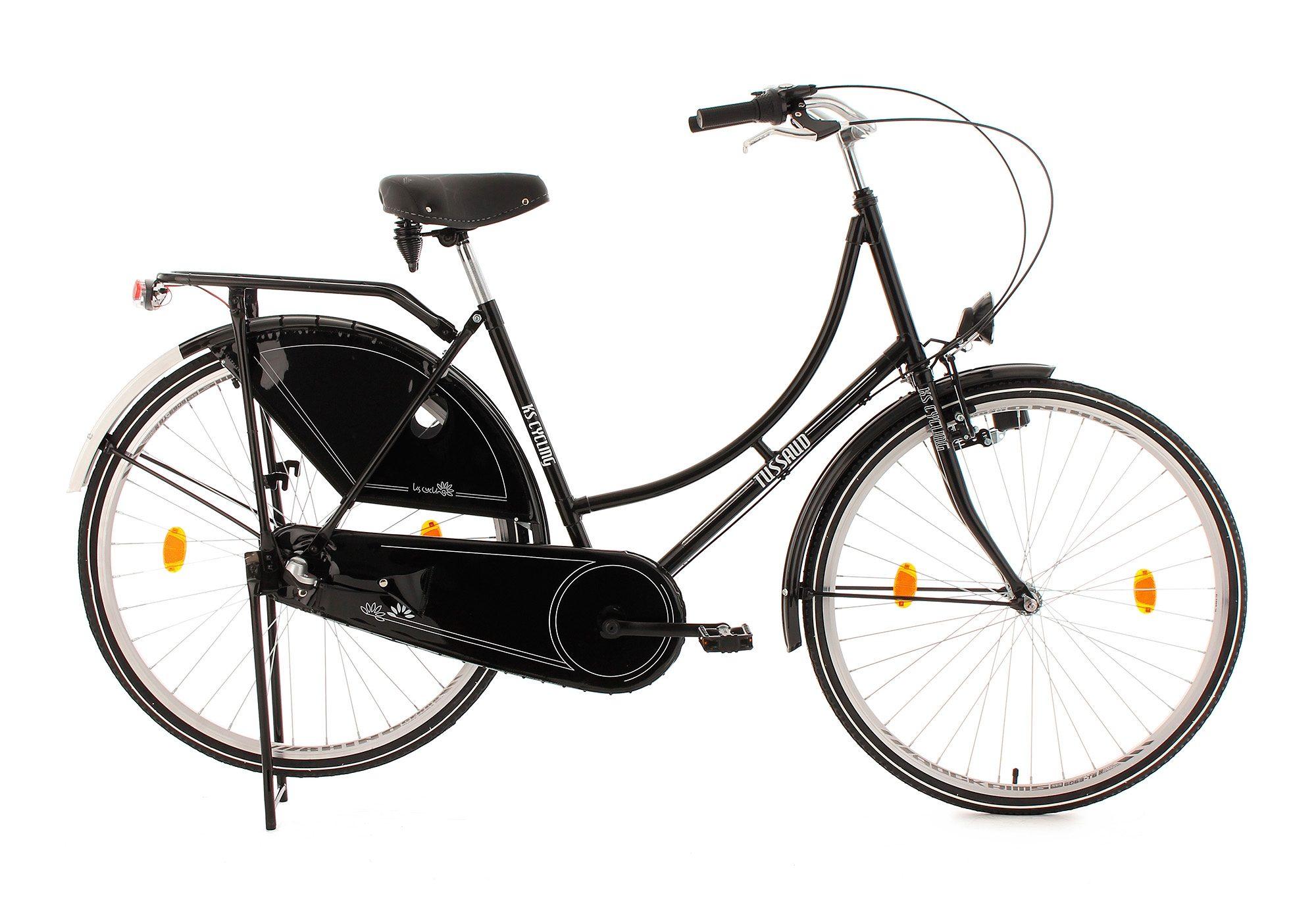 Hollandrad, 28 Zoll, 3 Gang Nabenschaltung, schwarz, »Tussaud«, KS Cycling
