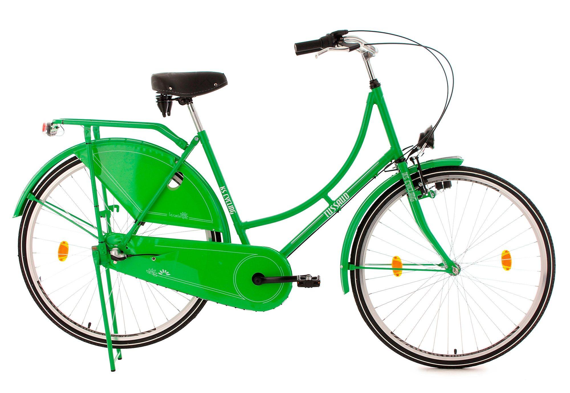 Hollandrad, 28 Zoll, 3 Gang Nabenschaltung, grün, »Tussaud«, KS Cycling
