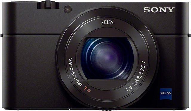 Digitalkameras - Sony »Cyber Shot DSC RX100M3« Kompaktkamera (Carl Zeiss Vario Sonnar T (F1.8 F2.8), 20,2 MP, 2,9x opt. Zoom, NFC, WLAN (Wi Fi), 180° schwenkbares Xtra Fine WhiteMagic LC Display)  - Onlineshop OTTO
